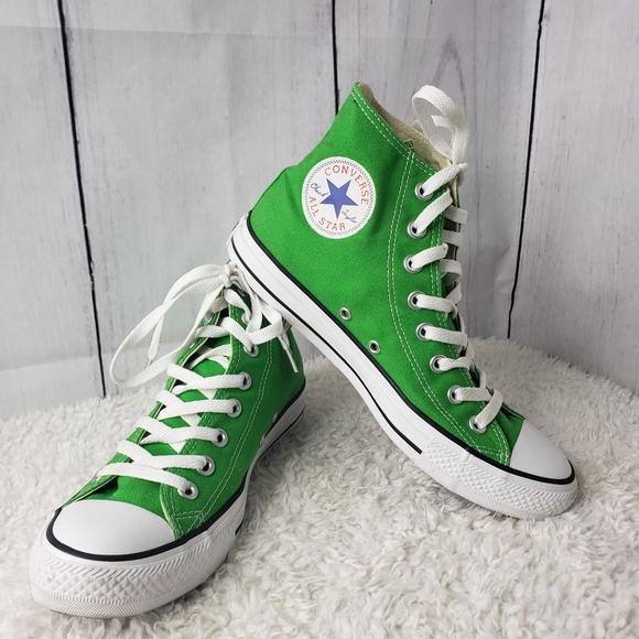Converse All Star Hi Tops Apple Green